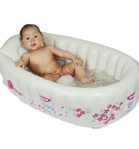 Надувная ванночка, новая