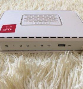 Wi-Fi роутер от дом.ру