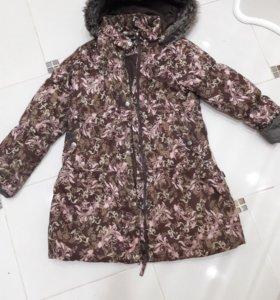 🌨Демисезонное пальто 134🌨