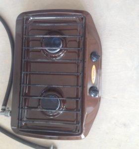 Газовая 2-х конфорочная плита