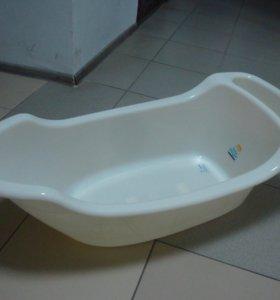 ванночка жемчужина с карманом со сливом 55л