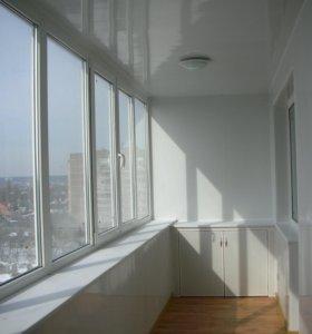 Остекление балконов,окна пластиковые
