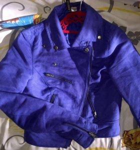 Куртка замшевая H&M