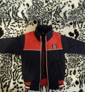 курточка стеганая р.92