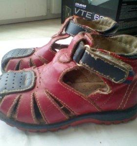Летние сандалии.