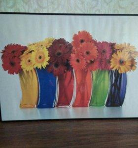 Картина постер 50х70см IKEA
