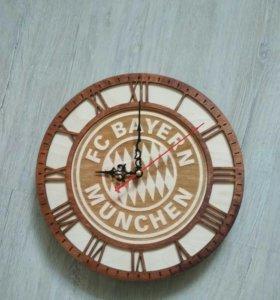 Часы с логотипом вашего клуба