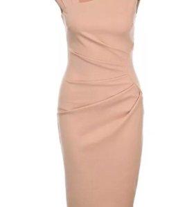 Платье Goddiva светло-розовое (44р)