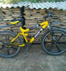 Горный велосипед MTB.