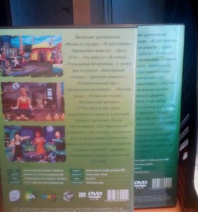 Диски The Sims 4 цена договорная