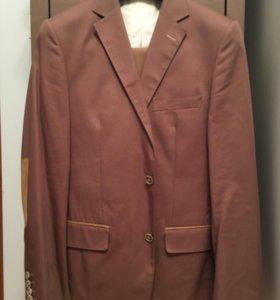 Cacharel пиджак бежевый хлопковый