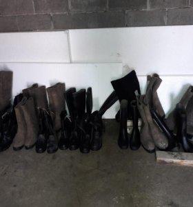 Обувь СНГ новая , сапоги остались только без меха