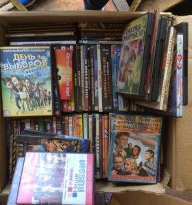 Продам кучу фильмов и компьютерных игр на cd диска