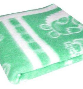 Байковое одеяло и подушка