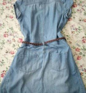Джинсовый сарафан -платье H&M