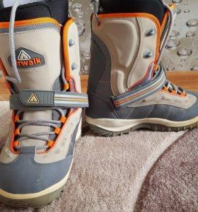 Сноуборд ботинки размер 39