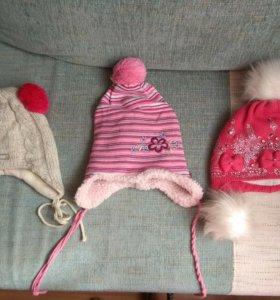 Зимнии шапки