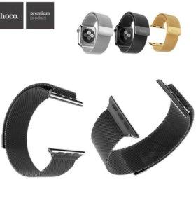 Миланский стальной ремешок Hoco Apple Watch 42 mm