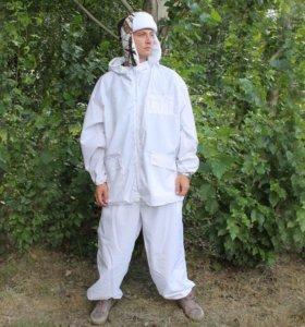 Маскировочный белый костюм
