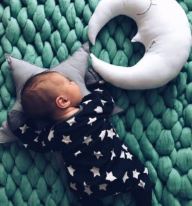 Мягкий тёплый детский гипоаллергенный плед