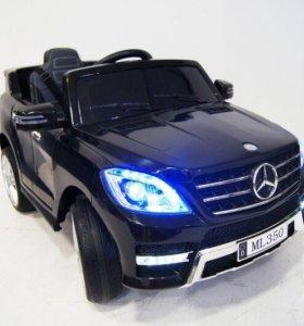Детский электромобиль ML 350 черный