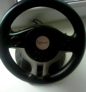 Gembird руль педали