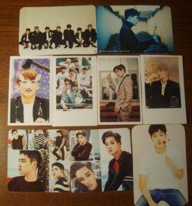 Карточки k-pop