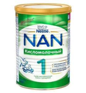 Сухая молочная смесь NAN 1 кисломолочный