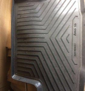 Коврик в багажник для Shevrolet Aveo l sedan