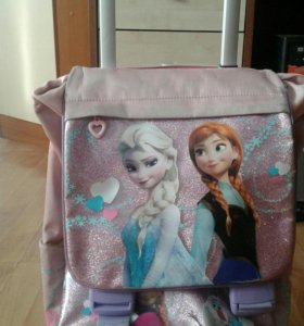 """Школьный ранец """"Frozen"""" на колесиках"""