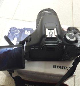 Фотоаппарат Canon EOS600D!