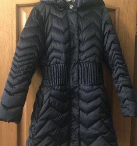 Итальянское зимнее пальто 150-160