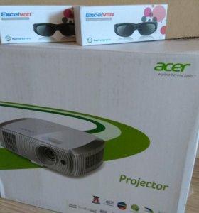 Кинотеатральный 3D FULL-HD проектор Acer H7550BD