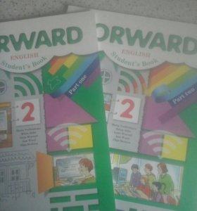 Продам учебники Английский язык 1 и 2 часть.