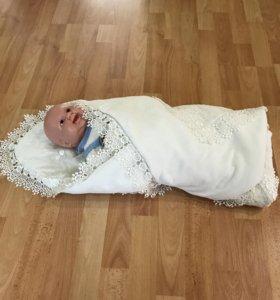 Одеяльца для новорожденных и до 3 лет