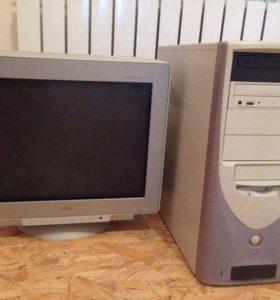 Продаётся компьютер, 2003 год. Торг уместен.