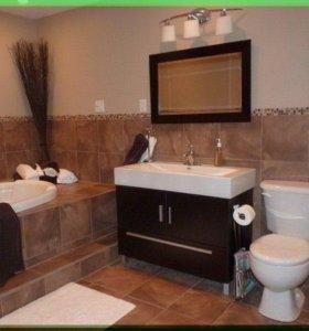 Ванна туалет под ключ ремонт ванны плиткой и пласт