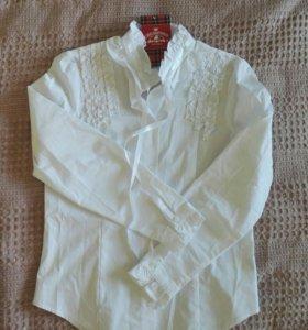 Новая школьная блузка 158 рост