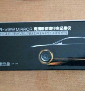 Продам зеркало заднего вида с регистратором 3 в 1