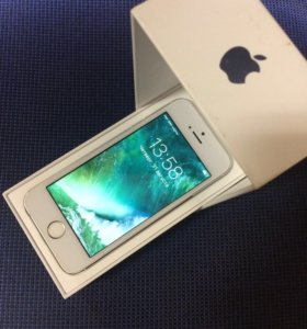IPhone 5S Silver 16GB Ростест