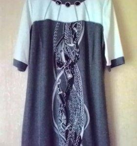 Платье нарядное 54 р-р
