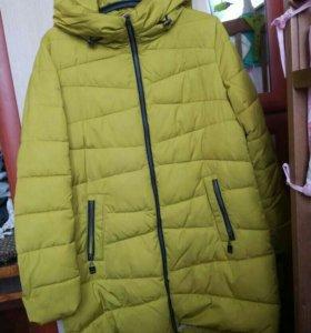 Пальто зимнее 48р