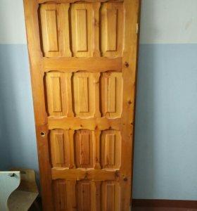 Деревянные двери 800*2000, 2шт