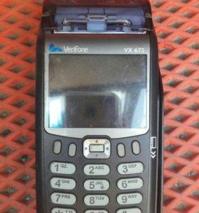 Мобильный терминал для банковских карт