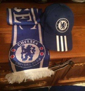 Кепка шарф