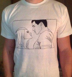 Рисунки на футболке по фото