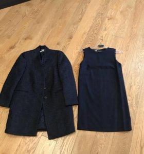 Пальто и платье STEFANEL