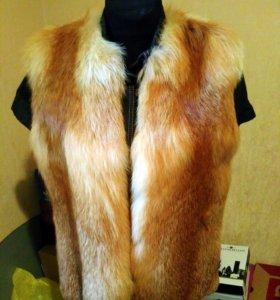 Натуральный мех лисы
