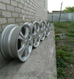 Диски Bridgestone R17 5x100 5x114.3