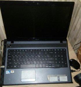 Ноутбук Acer с сумкой для переноски